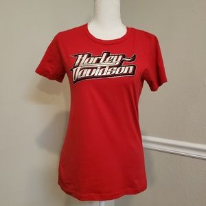Harley-Davidson Red Winchester Virginia Shirt